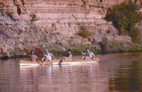 Canoing on the MurrayRiver